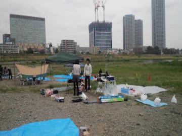 多摩川緑地BBQ広場|バーベキューレンタルのBBQ-PARK