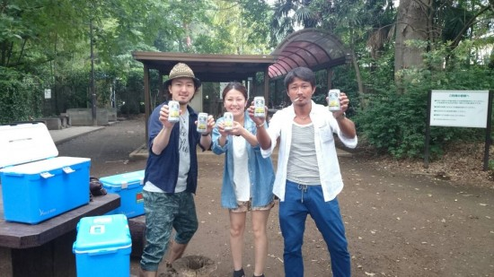 鎌田公園へのお届け 2014年6月24日