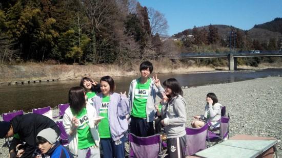 2015年3月13日秋川橋河川公園