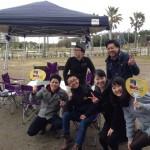 2015年3月10日浦安市総合公園バーベキュー場へのお届け